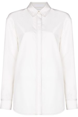 WARDROBE.NYC Long-sleeve silk shirt