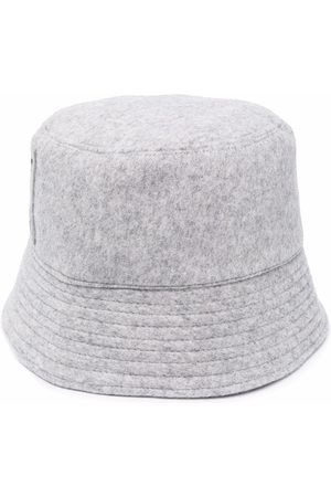 MSGM Men Hats - Embroidered bucket hat