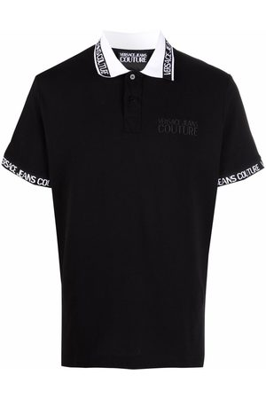 Versace Jeans Couture Logo-tape polo shirt