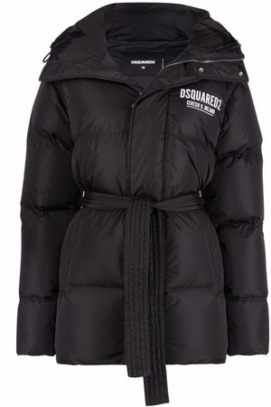 Dsquared2 Hooded padded down coat