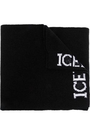 Iceberg Logo print scarf