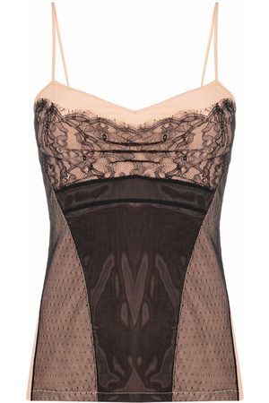 Dior 2006 pre-owned lace cami top