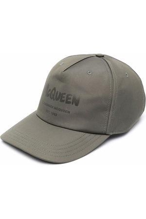 Alexander McQueen Logo-printed cap