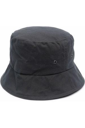 MACKINTOSH Waxed cotton bucket hat