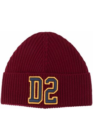 Dsquared2 Embroidered logo knitted beanie