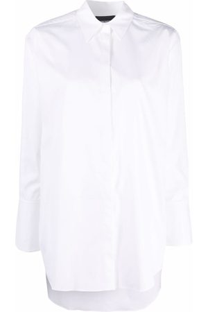 Emporio Armani Concealed-front shirt
