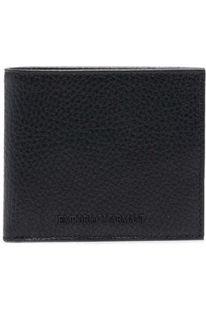 Emporio Armani Bi-fold leather wallet