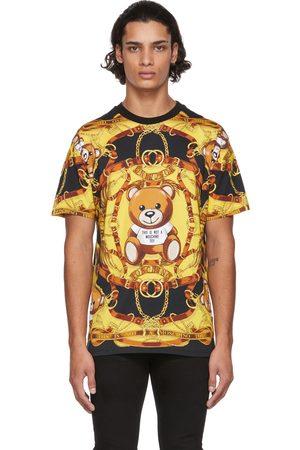 Moschino Tricolor Teddy Print T-Shirt