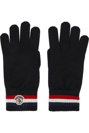 Men Gloves - Moncler Wool Stripe Gloves