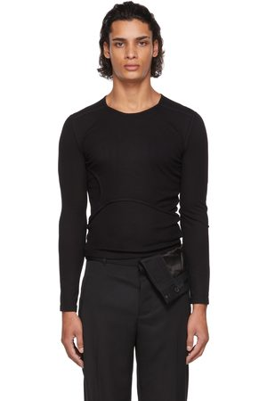 Men Long Sleeve - Dion Lee Y-Front Layered Long Sleeve T-Shirt