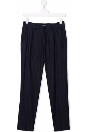 Dondup Kids TEEN tailored cotton trousers