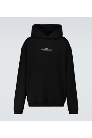 Maison Margiela Upside down logo hooded sweatshirt