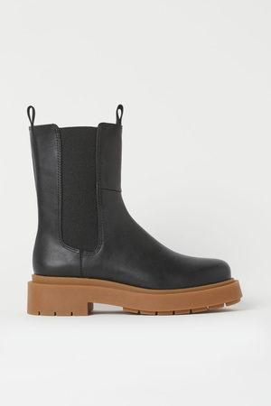 H & M Platform Chelsea boots