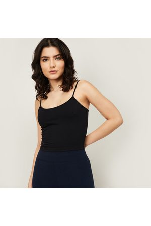 Ginger Women Solid Camisole Top