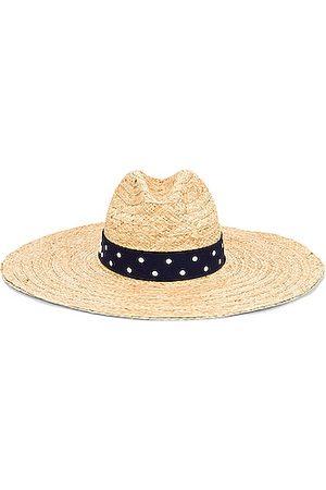Miu Miu Straw Ribbon Hat in Naturale &