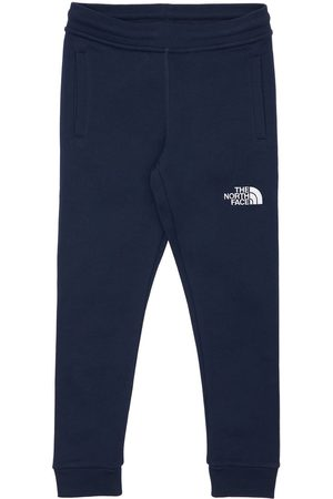 The North Face Boys Sports Trousers - Logo Print Cotton Sweatpants