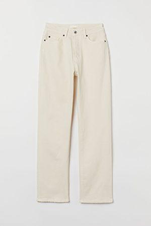 H&M Women Straight - Straight High Jeans