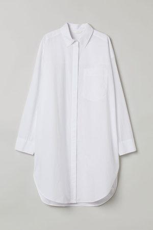 H&M Women Long Sleeve - Long cotton shirt