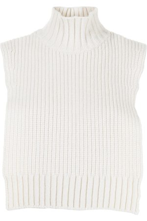 Sueundercover Ribbed high neck knitted vest
