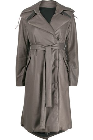 ISAAC SELLAM EXPERIENCE Women Trench Coats - Padded oversized trench coat