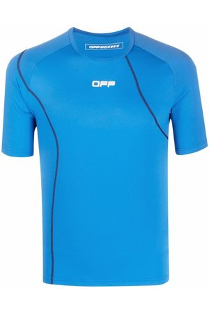 Off-White Active short sleeve compression T-shirt