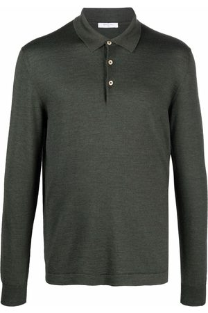 Boglioli Men Polo Shirts - Long-sleeved polo shirt