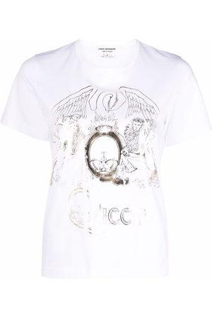 JUNYA WATANABE Graphic-print round-neck T-shirt