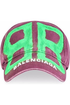 Balenciaga BB spray-paint baseball cap
