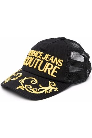 Versace Jeans Couture Logo-embroidered cap