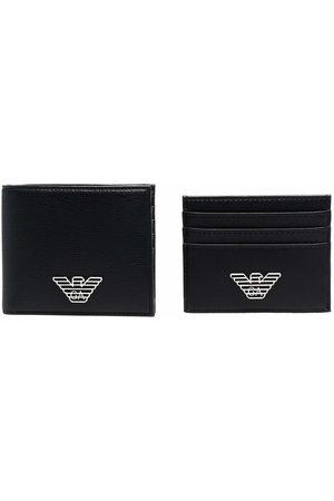 Emporio Armani Logo-plaque wallet set