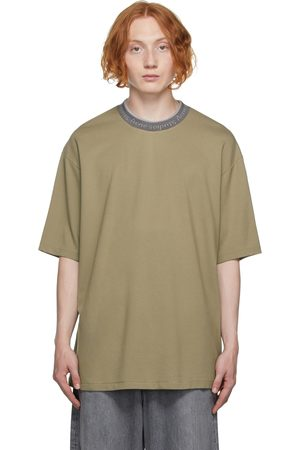 Acne Studios Logo Collar T-Shirt