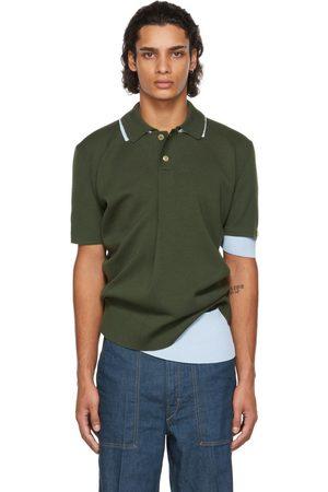 Men Polo Shirts - Jacquemus & Blue La Montagne 'Le Double Polo' Polo