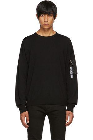 Moschino Wool Logo Pullover Sweater
