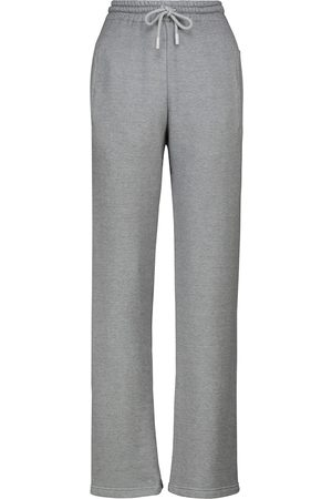 OFF-WHITE Printed cotton-blend sweatpants
