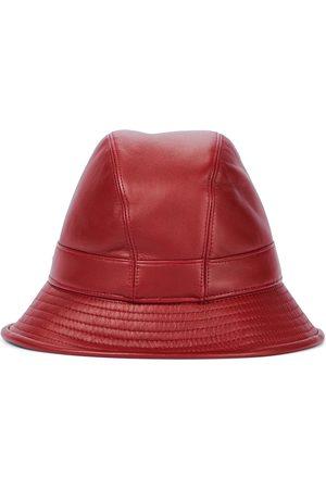 Loro Piana Meryl leather bucket hat