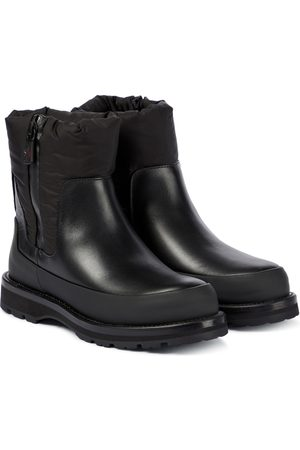 Moncler Women Ankle Boots - Rain Don't Care leather ankle boots