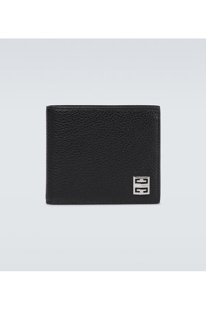 Givenchy Men Wallets - 4G grained leather bifold wallet