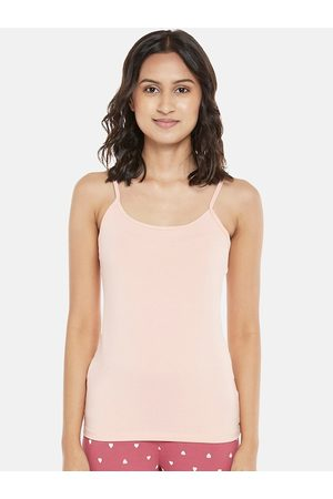 Dreamz by Pantaloons Women Pink Solid Camisoles