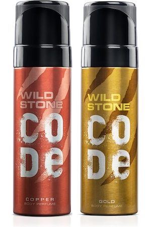 Wild stone Men Set of 2 Code Body Perfumes
