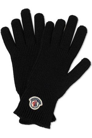 Moncler Men Gloves - Logo Wool Gloves