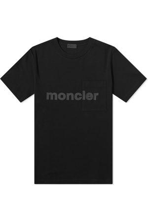 Moncler Men T-shirts - Slogan Logo Tee