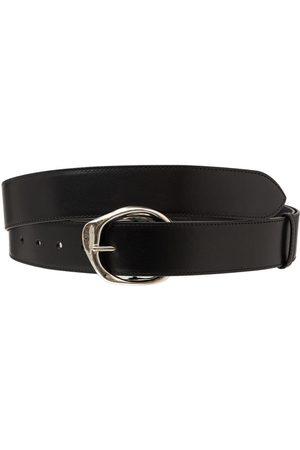 Alexander McQueen Women Belts - Long Molten Ecolux Leather Belt