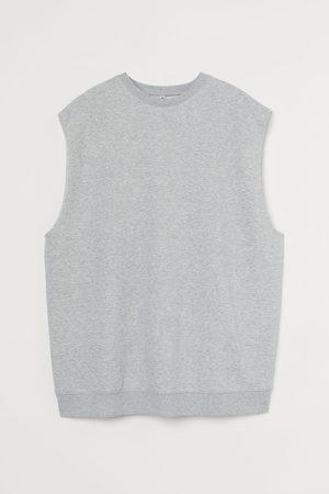H&M Sleeveless sweatshirt - Grey