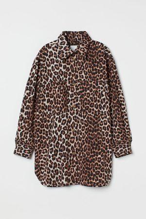 H&M Oversized cotton shirt jacket