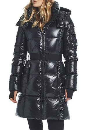 Sam. Women Parkas - Noho Quilted Hooded Coat