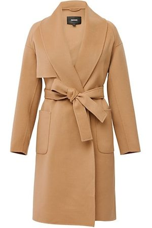 Mackage Women Trench Coats - Thalia Wool Belted Coat