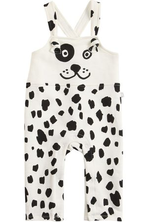 Stella McCartney Dalmatian Print Cotton Overalls