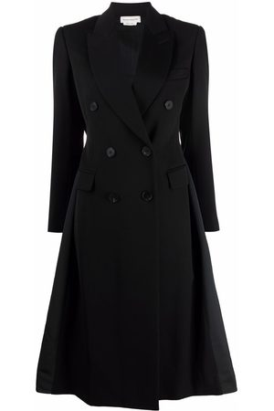 Alexander McQueen Double-breasted panelled coat