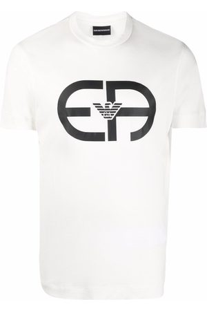 Emporio Armani Men Short Sleeve - Logo-print short-sleeve T-shirt