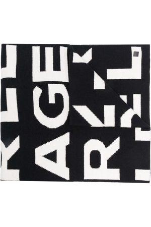 Karl Lagerfeld Men Scarves - AOP block logo scarf